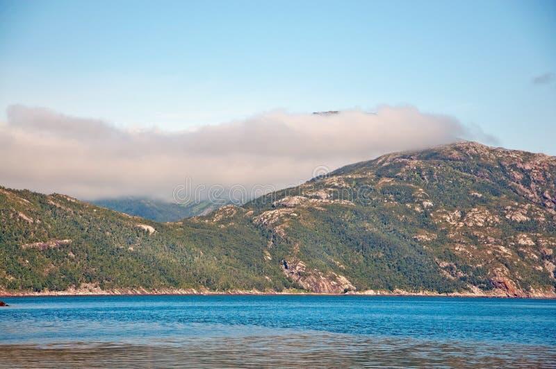 Nube del Fiord imagen de archivo libre de regalías
