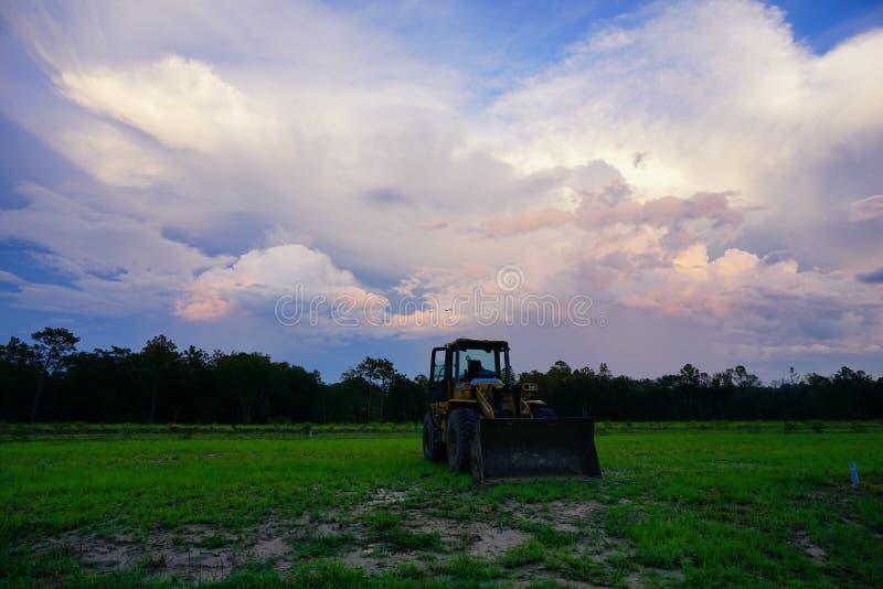 Nube determinada del sol de la Florida foto de archivo libre de regalías