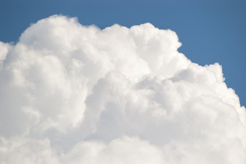 Nube di cumulo fotografie stock libere da diritti