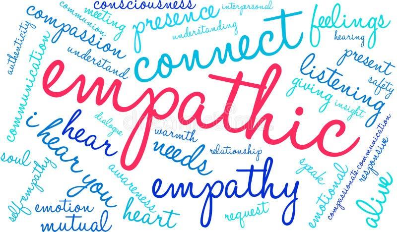 Nube Empathic de la palabra libre illustration