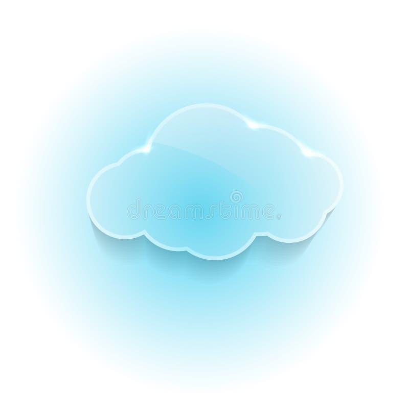 Nube ideal brillante brillante libre illustration