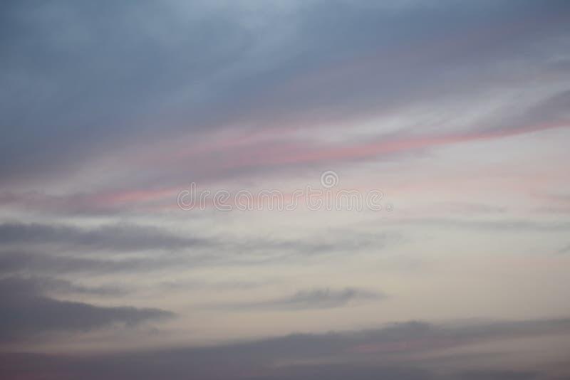Nube muy hermosa en cielo fotografía de archivo