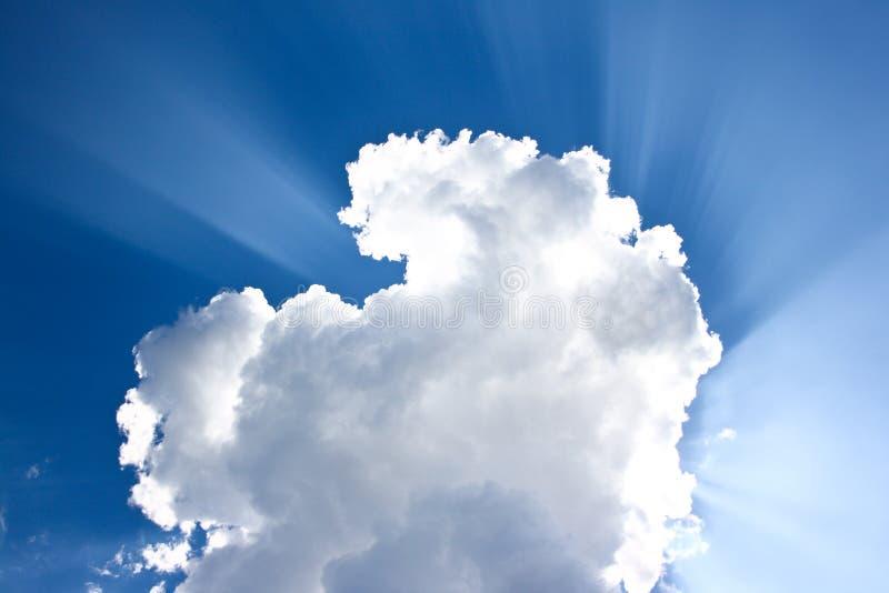 Nube y cielo imagenes de archivo
