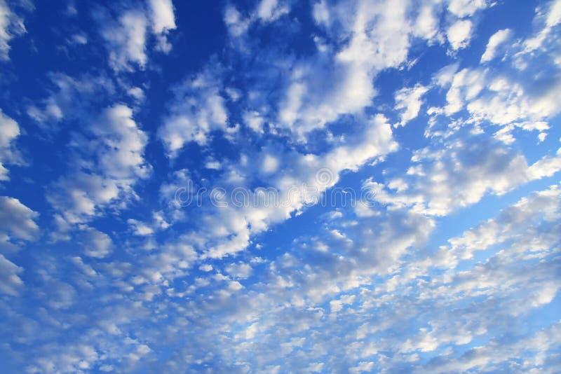 Nube y cielo fotografía de archivo