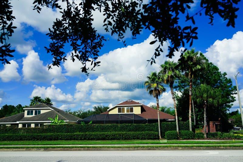 Nube y ?rbol de la Florida fotos de archivo