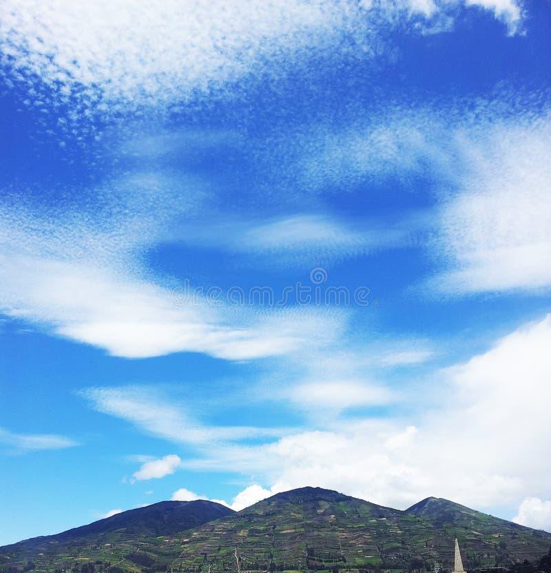 nubes, σύννεφα στοκ φωτογραφία