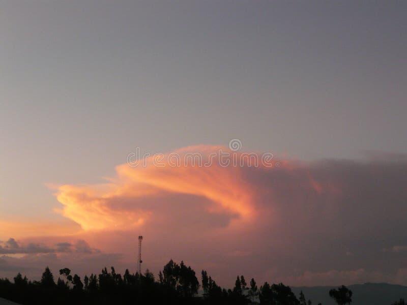 nubes, σύννεφα στοκ εικόνες