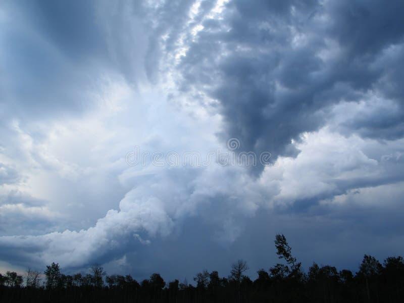 Nubes 2 imagen de archivo libre de regalías