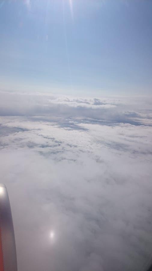 Nubes foto de archivo libre de regalías