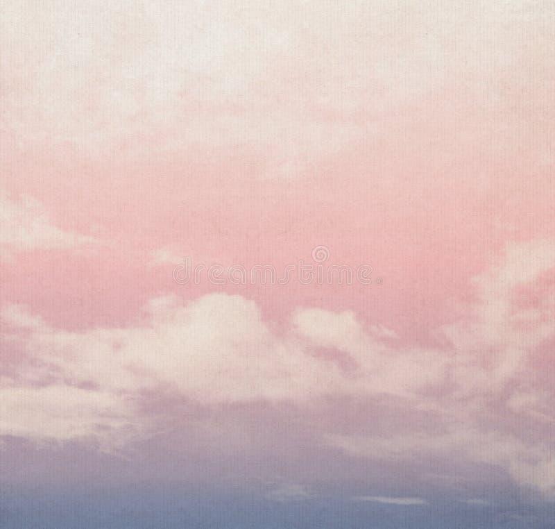 Nubes abstractas de la naturaleza fotos de archivo