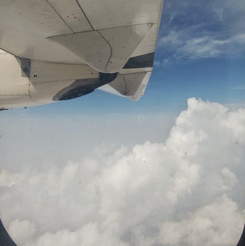 Nubes burbujeantes imágenes de archivo libres de regalías