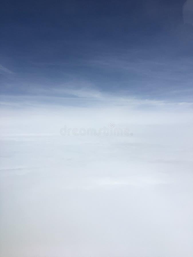 Nubes de arriba imagen de archivo libre de regalías