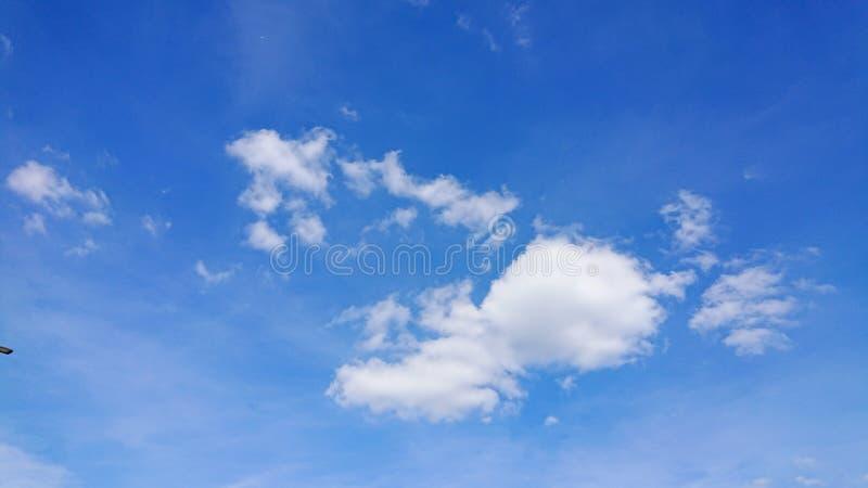 Nubes de Humilis del cúmulo fotografía de archivo libre de regalías