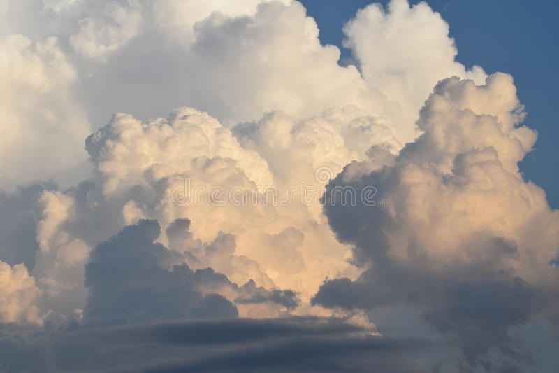 Nubes de Kansas City, Missouri fotos de archivo