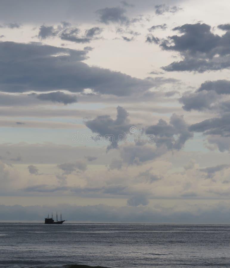 Nubes de lluvia fotografía de archivo