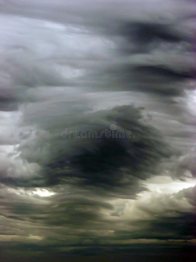 Nubes de tormenta fotografía de archivo