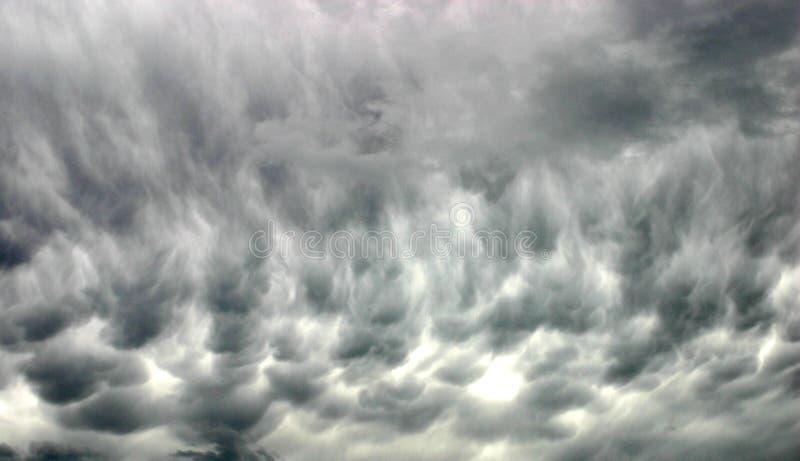 Nubes de tormenta imagen de archivo
