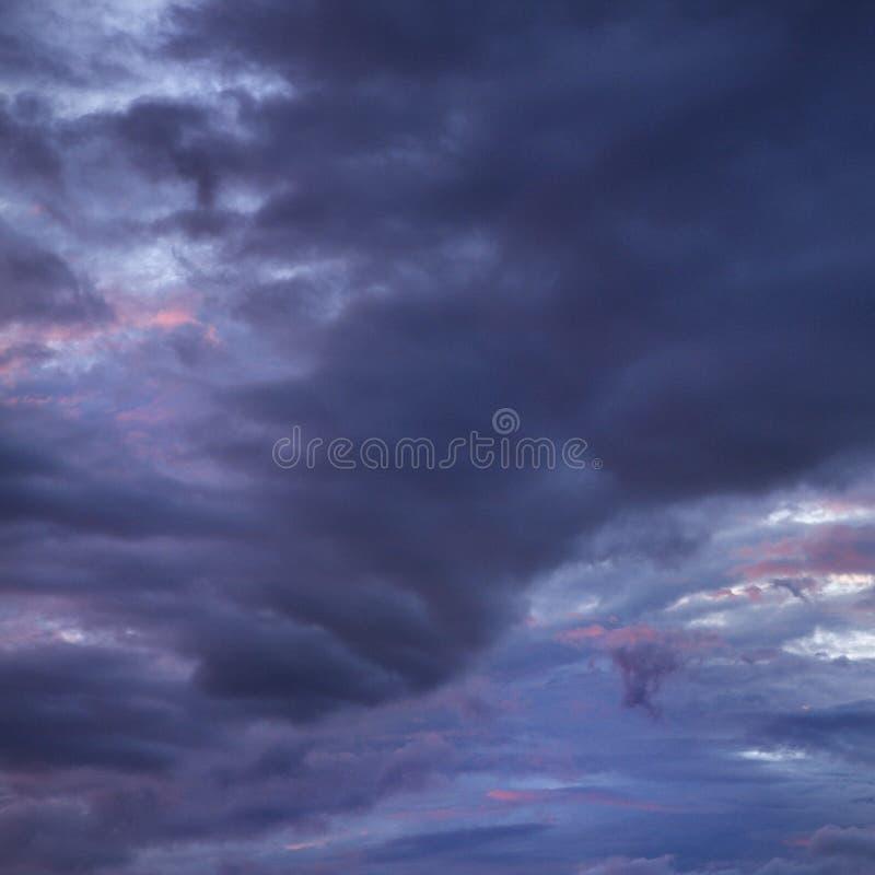 Nubes de tormenta de Maui. imágenes de archivo libres de regalías