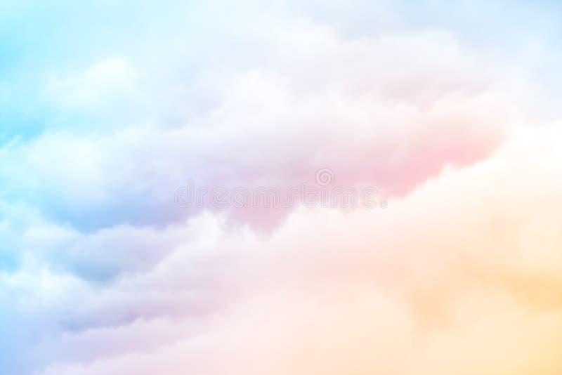 Nubes del arco iris