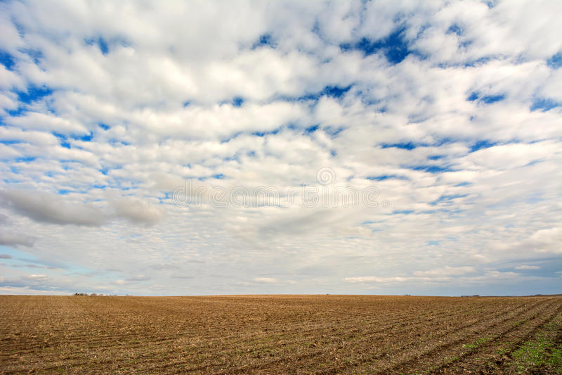 Nubes del balanceo imagen de archivo libre de regalías