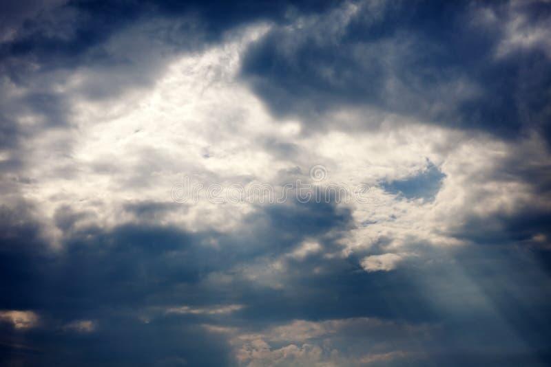 Nubes después de la tormenta fotos de archivo libres de regalías