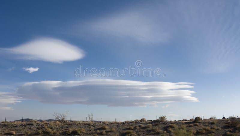 Nubes empiladas fotografía de archivo