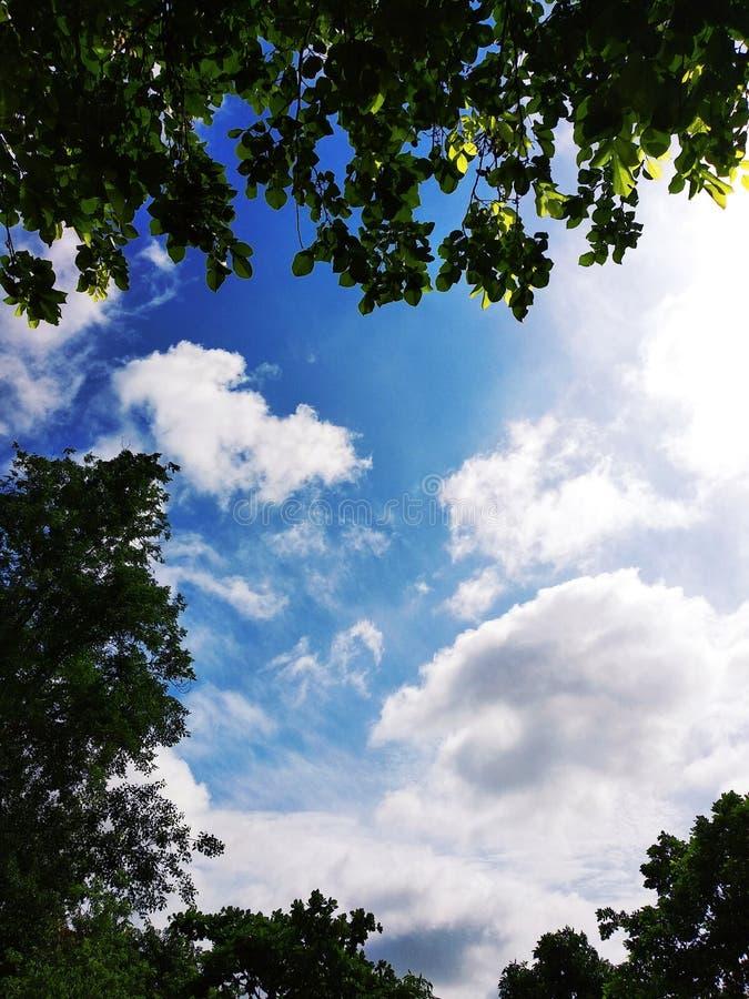 Nubes en la India fotografía de archivo