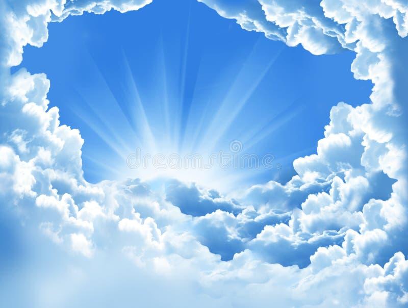 Nubes hermosas fotografía de archivo libre de regalías