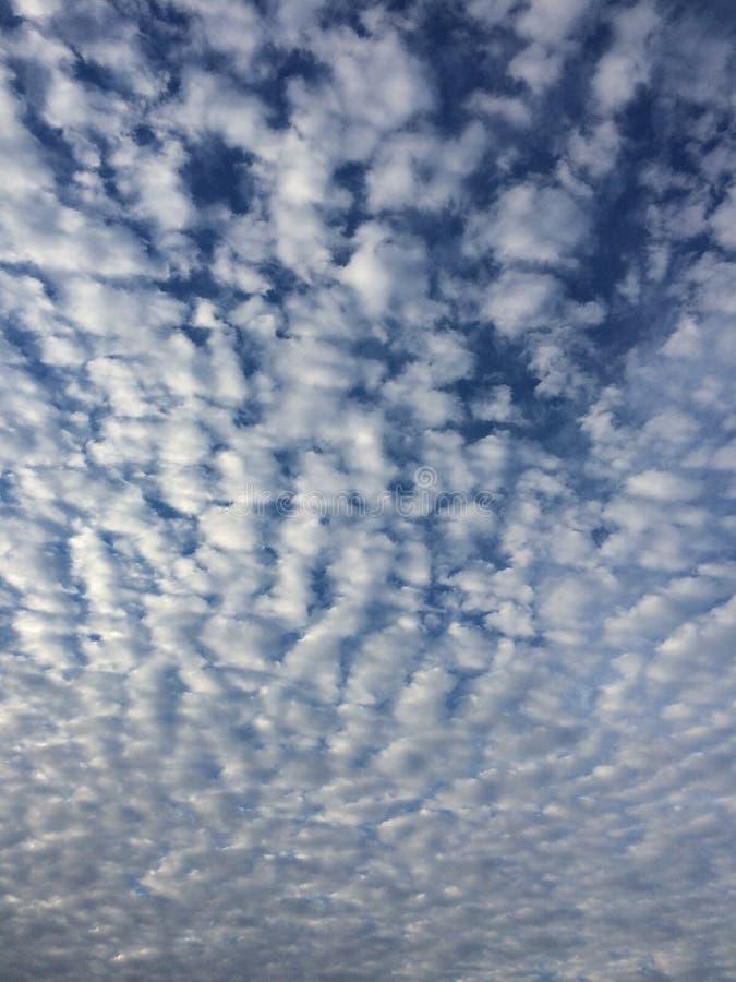 Nubes hinchadas fotos de archivo libres de regalías