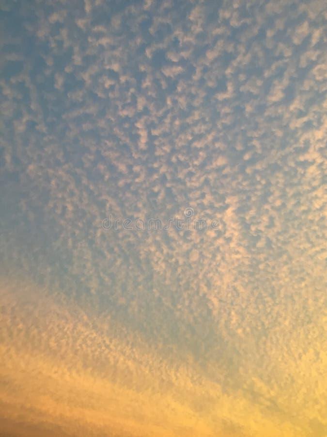 Nubes hinchadas imagen de archivo libre de regalías