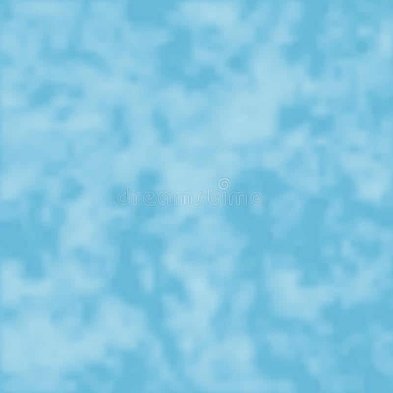 Nubes ligeras en un cielo libre illustration