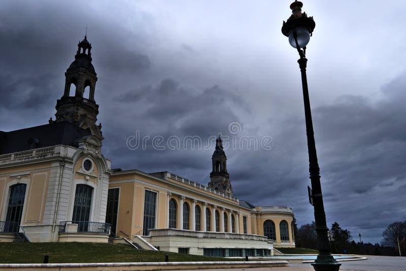 Nubes negras foto de archivo libre de regalías