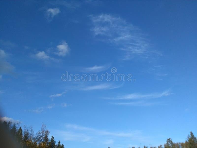 Nubes Spokane fotos de archivo