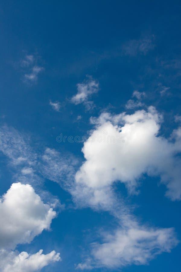Nubes y cielo foto de archivo libre de regalías