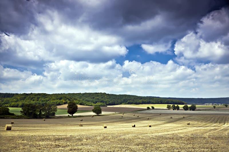 Nubi da Bourgogne fotografie stock libere da diritti