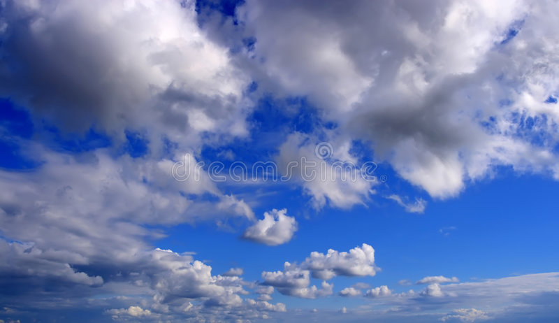 Nubi del cielo immagini stock libere da diritti