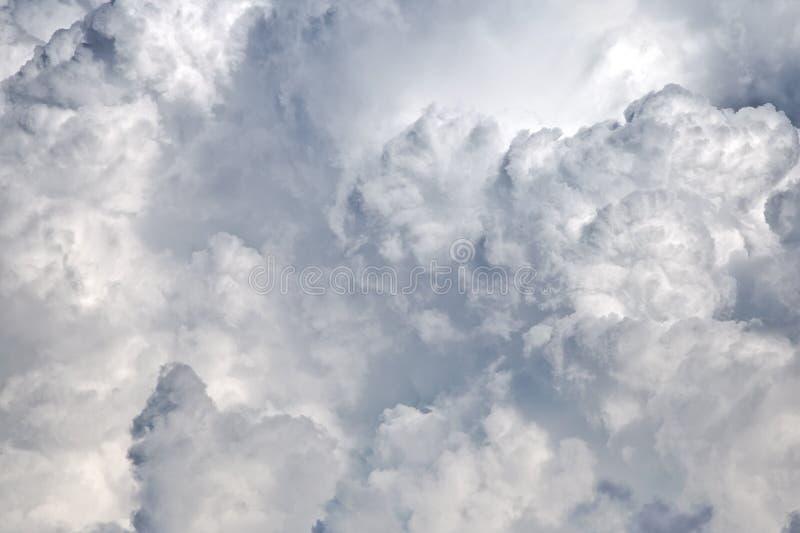 Nubi di pioggia fotografia stock