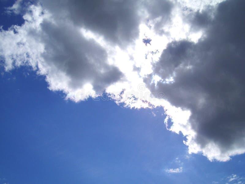Nubi di tempesta fotografia stock libera da diritti