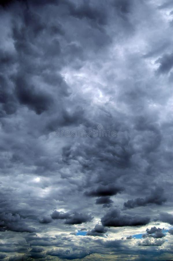 Nubi di tempesta di estate fotografie stock