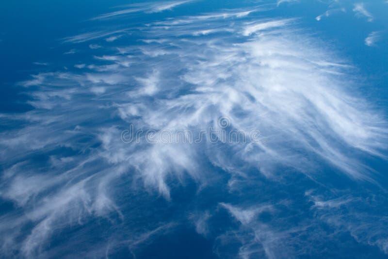 Nubi nel cielo immagine stock libera da diritti
