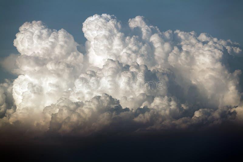 Nubi tempestose fotografie stock