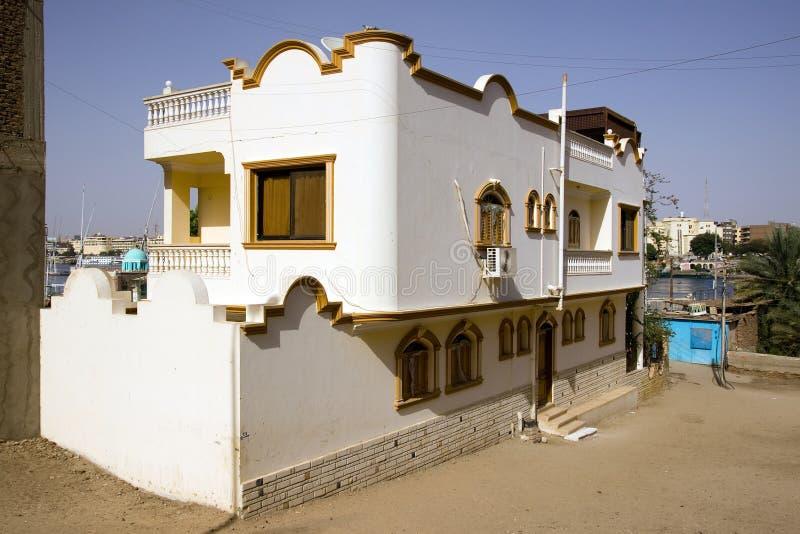 nubian hus royaltyfri bild