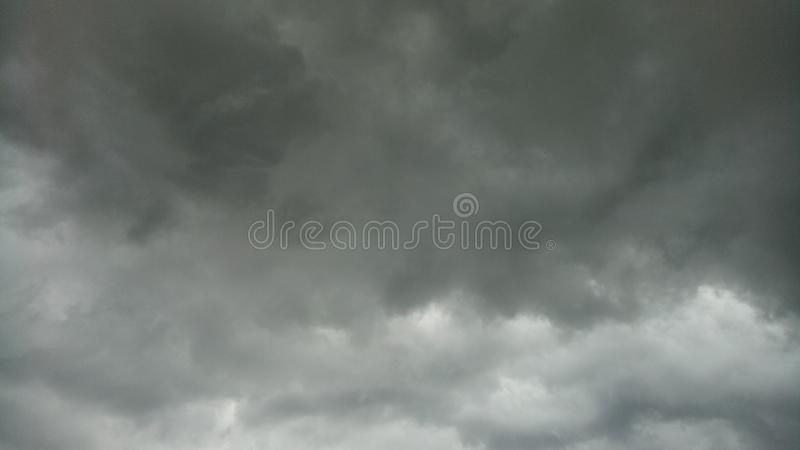 Nubla-se tempestades imagens de stock