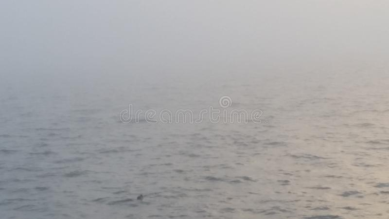 Nublado, brumoso, vergonzoso fotos de archivo libres de regalías