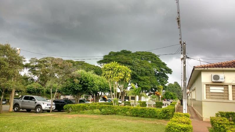 Nublado del tempo foto de archivo