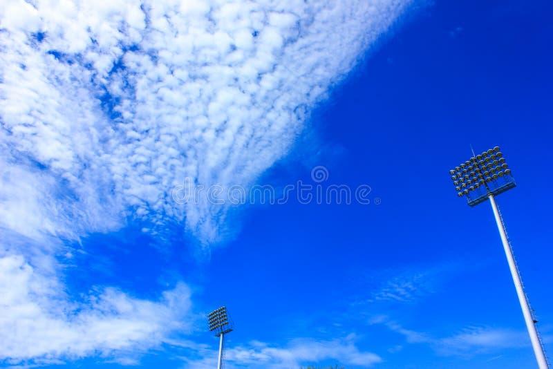 Nublado extraño foto de archivo