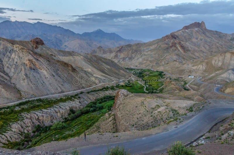 Nubra dolina, India obraz royalty free