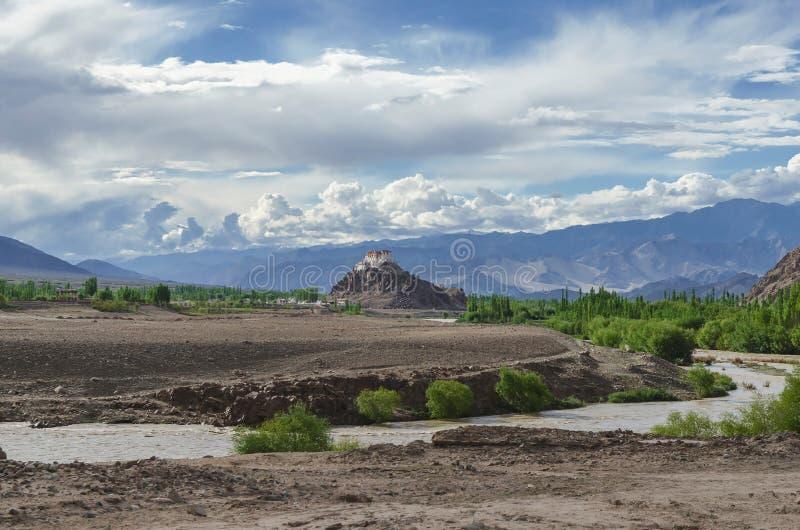 Nubra dolina nieodkryty królestwo; l10a:dziedzina natura zdjęcie stock