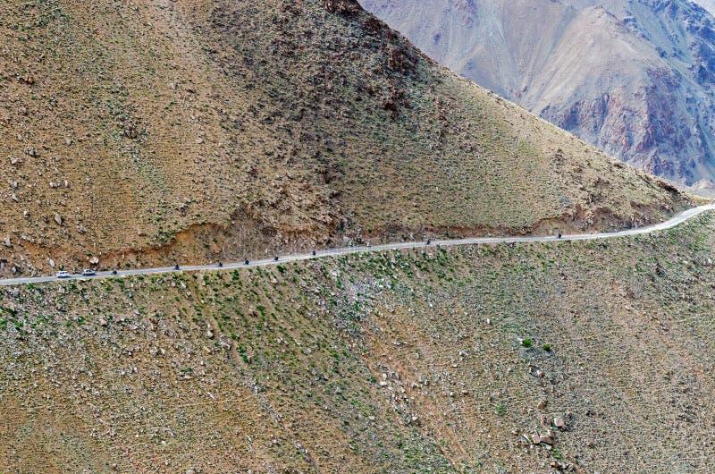 Nubra dolina nieodkryty królestwo; l10a:dziedzina natura zdjęcia stock
