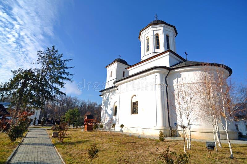 Nucet教会 免版税库存图片